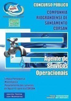 Apostila Agente De Serviços Operacionais - Concurso Corsan