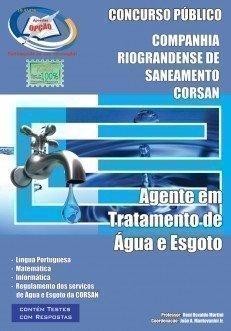 Apostila Agente Em Tratamento De água E Esgoto - Concurso Corsan...