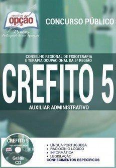 Apostila Concurso Crefito5 2016, AUXILIAR ADMINISTRATIVO