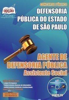 AGENTE DE DEFENSORIA PÚBLICA - ASSISTENTE SOCIAL