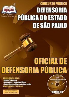 OFICIAL DE DEFENSORIA DPE - SP