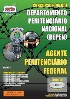 Apostila Agente Penitenciário Federal - Volume Ii - Concurso Departamento Penit...