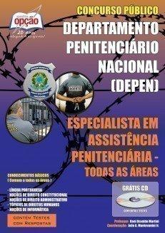 Apostila Especialista Em Assistência Penitenciária (todas As áreas) - Concurs...