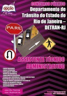 Apostila Assistente Técnico Administrativo - Concurso Detran / RJ...