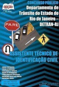 Apostila Assistente Técnico De Identificação Civil - Concurso Detran / RJ...