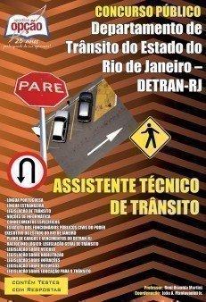 Apostila Assistente Técnico De Trânsito - Concurso Detran / RJ...