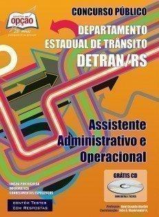 Apostila Assistente Administrativo E Operacional - Concurso Detran / Rs...