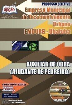 AUXILIAR DE OBRA (AJUDANTE DE PEDREIRO)