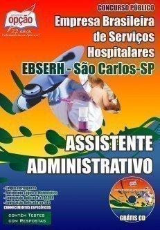 Apostila EBSERH São Carlos SP | Assistente Administrativo