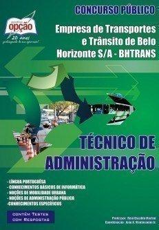 Apostila Técnico De Administração - Concurso Empresa De Trans. E Trânsito De...