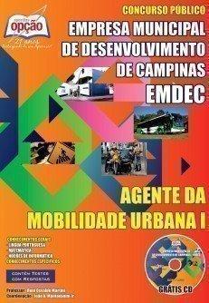 Empresa Municipal de Desenvolvimento de Campinas / SP (EMDEC)-OFICIAL DE MANUTENÇÃO I-AGENTE DE MOBILIDADE URBANA I