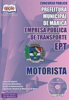 MOTORISTA - EPT - MARICÁ - RJ