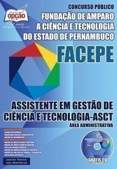 ASSISTENTE EM GESTÃO DE CIÊNCIA E TEC. - ASCT - ÁREA ADMINISTRATIVA