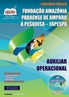 Apostila Auxiliar De Operacional - Concurso Fapespa