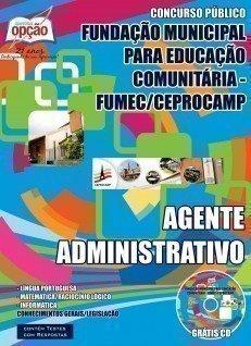 Apostila Fumec - Fundação Municipal para Educação Comunitária - CEPROCAMP.