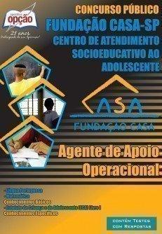 Apostila Agente De Apoio Operacional (sexo Masculino) - Concurso Fundação Casa...