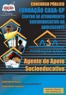 Apostila Agente De Apoio Socioeducativo - Concurso Fundação Casa / SP...
