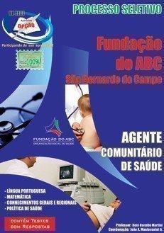 Apostila Agente Comunitário De Saúde - Concurso Fundação Do Abc / SP...