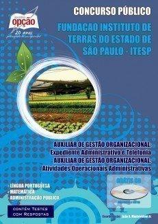 Apostila Auxiliar De Gestão Organizacional - Concurso Fundação Instituto De T...