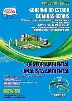 Apostila Gestor E Analista Ambiental - Concurso Governo Do Estado De Minas Gerai...