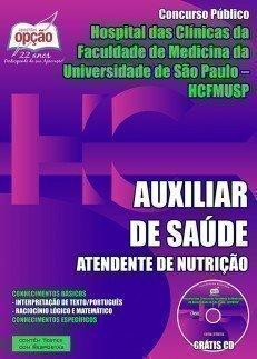 AUXILIAR DE SAÚDE - ATENDENTE DE NUTRIÇÃO