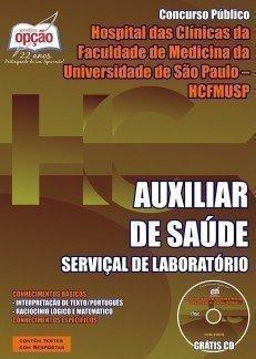 AUXILIAR DE SAÚDE - SERVIÇAL DE LABORATÓRIO