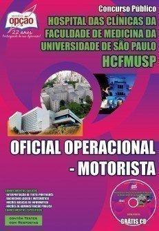 Apostila Concurso Hospital das Clínicas USP - HCFMUSP - SP | Motorista - 2015