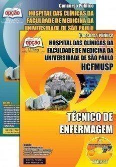 Apostila Concurso Técnico de Enfermagem HCFMUSP  2015