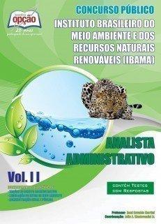 Apostila Analista Administrativo - Volume Ii - Concurso IBAMA (analista)...