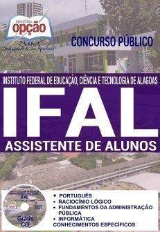 Apostila Ifal ASSISTENTE DE ALUNOS 2016