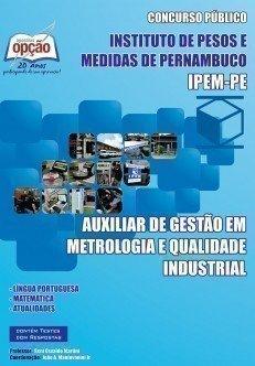 AUXILIAR DE GESTÃO EM METROLOGIA E QUALIDADE INDUSTRIAL