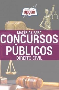 Apostila Direito Civil - Concurso Matérias Para Concursos Públicos...