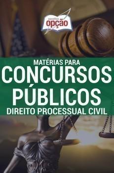 Apostila Direito Processual Civil - Concurso Matérias Para Concursos Públicos...