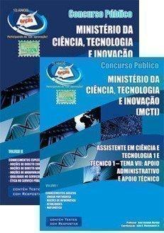 Apostila Assistente Em Ciência E Tecnologia 1 / Técnico 1 - Tema Vii - Complet...