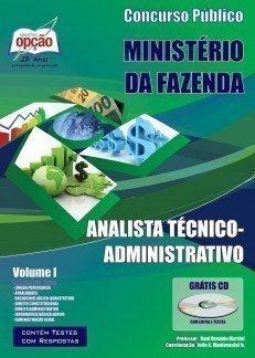 Apostila Analista Técnico (administrativo) - Volume I - Concurso Ministério Da...