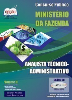 Apostila Analista Técnico (administrativo) - Volume Ii - Concurso Ministério D...