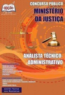 Apostila Analista Técnico (administrativo) - Concurso Ministério Da Justiça...
