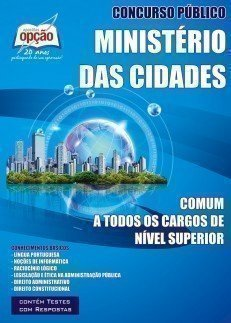 Apostila Comum Aos Cargos De Nível Superior - Concurso Ministério Das Cidades...