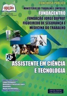 ASSISTENTE EM CIÊNCIA & TECNOLOGIA