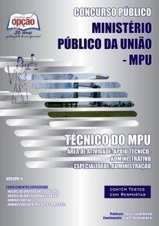 Apostila Técnico Do Mpu - Volume Ii - Concurso Ministério Público Da União (...