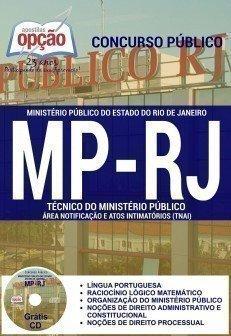 Apostila MPRJ - Técnico e Analista 2016 - Ministério Público do RJ