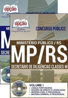 SECRETÁRIO DE DILIGÊNCIAS CLASSES - M