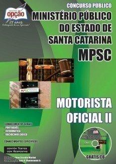 MOTORISTA OFICIAL II