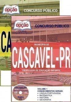 Apostila Concurso Prefeitura de Cascavel - PR 2016.