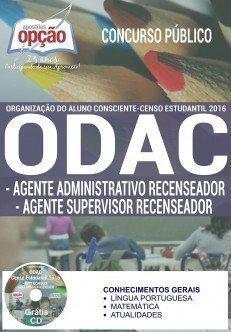 Apostila ODAC-SP Agente Recenseador 2016