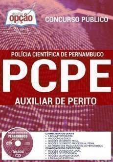 Apostila concurso pcpe AUXILIAR DE PERITO