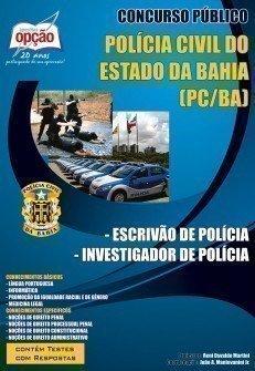 Apostila Escrivão De Polícia / Investigador De Polícia - Concurso Polícia Ci...