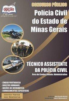 TÉCNICO ASSISTENTE DA POLÍCIA CIVIL- ÁREA ADMINISTRATIVA