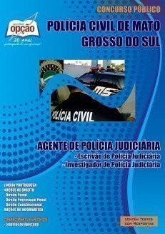 Apostila Escrivão E Investigador De Polícia Judiciária  - Concurso Policia Ci...