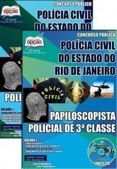 PAPILOSCOPISTA POLICIAL DE 3ª CLASSE